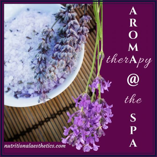 Aromatherapy at the Spa