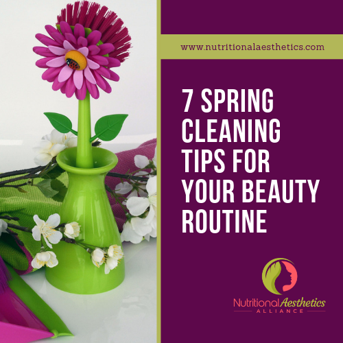 7 Spring Cleaning Tips for Your Beauty Routine