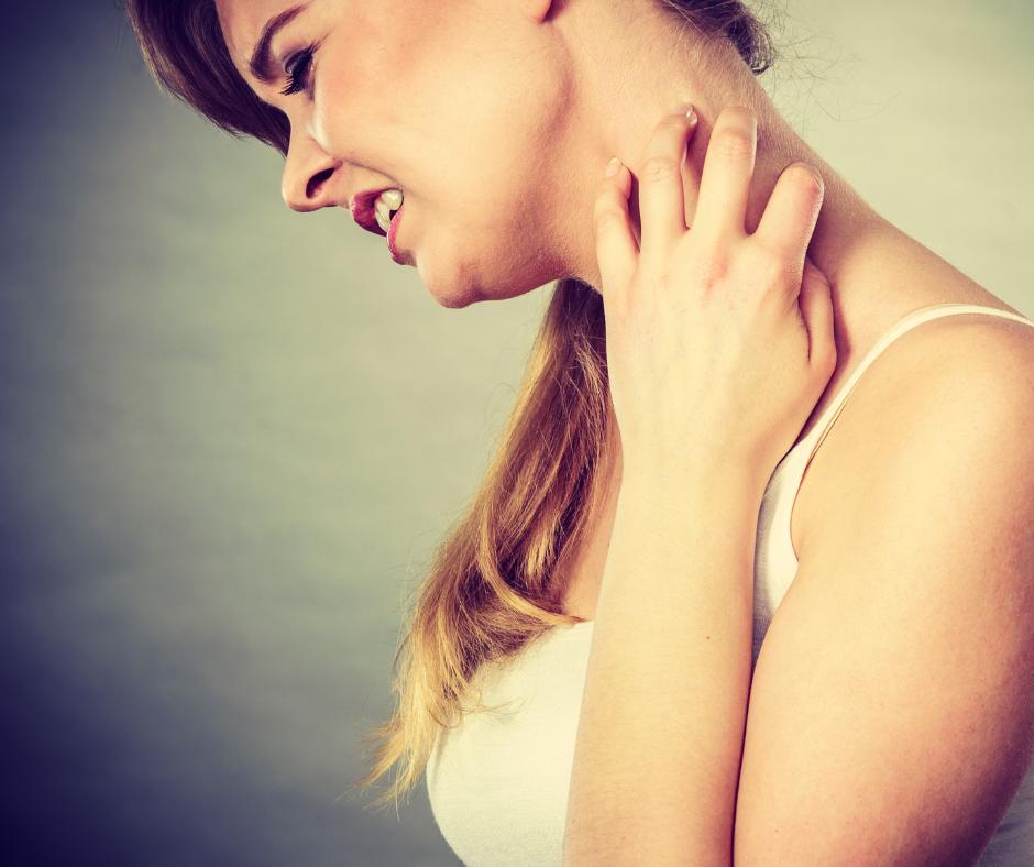 Skin rashes caused by hormone imbalance