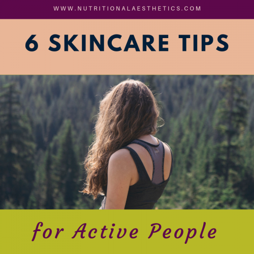 6 Skincare Tips for Active People
