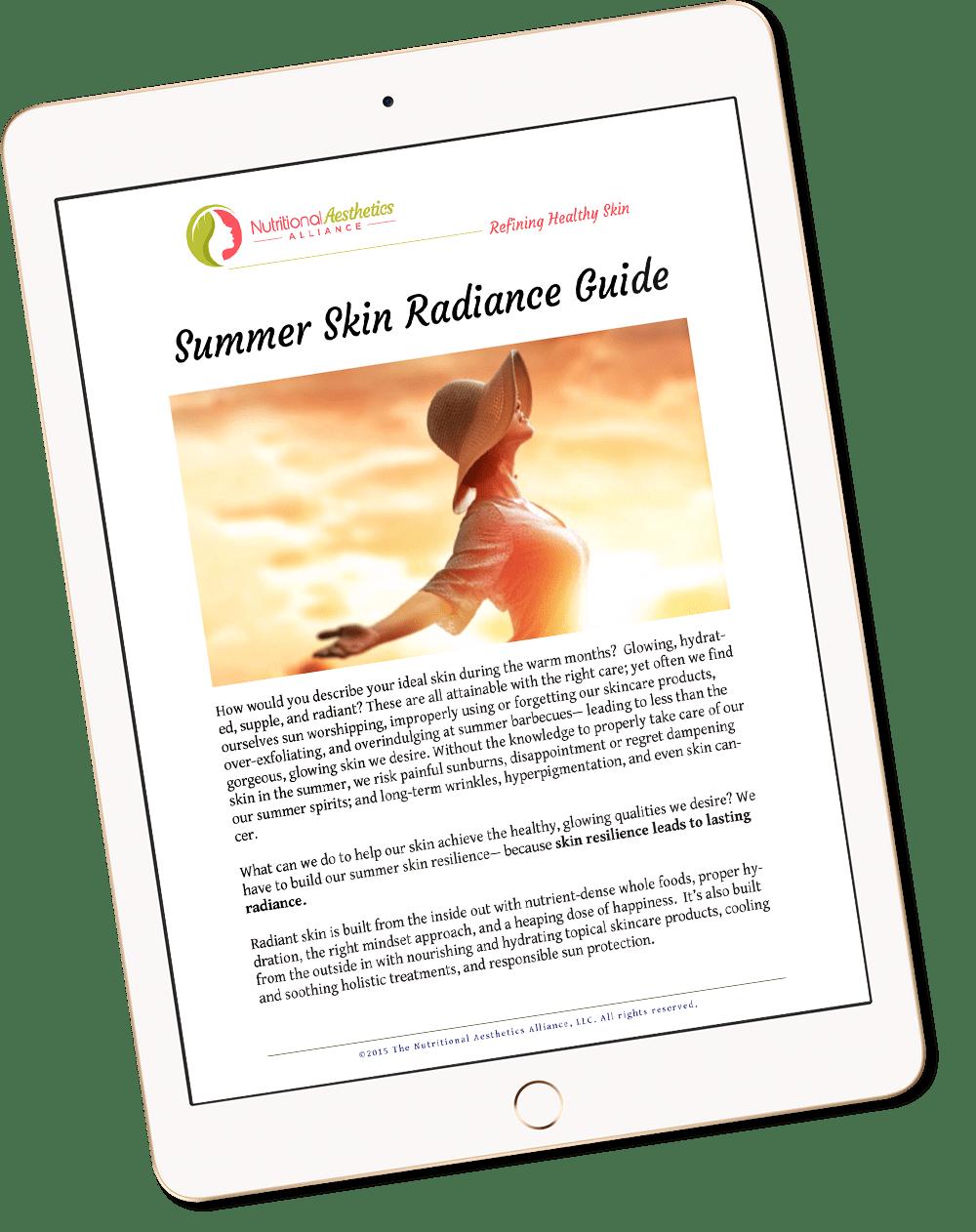 Summer Guide on iPad