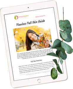Fall Skin Guide on an iPad