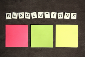 setting resolutions can be part of a healthy skin lifestyle