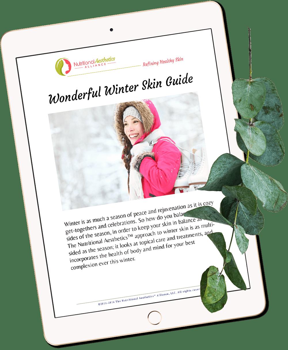 Winter holistic skin guide